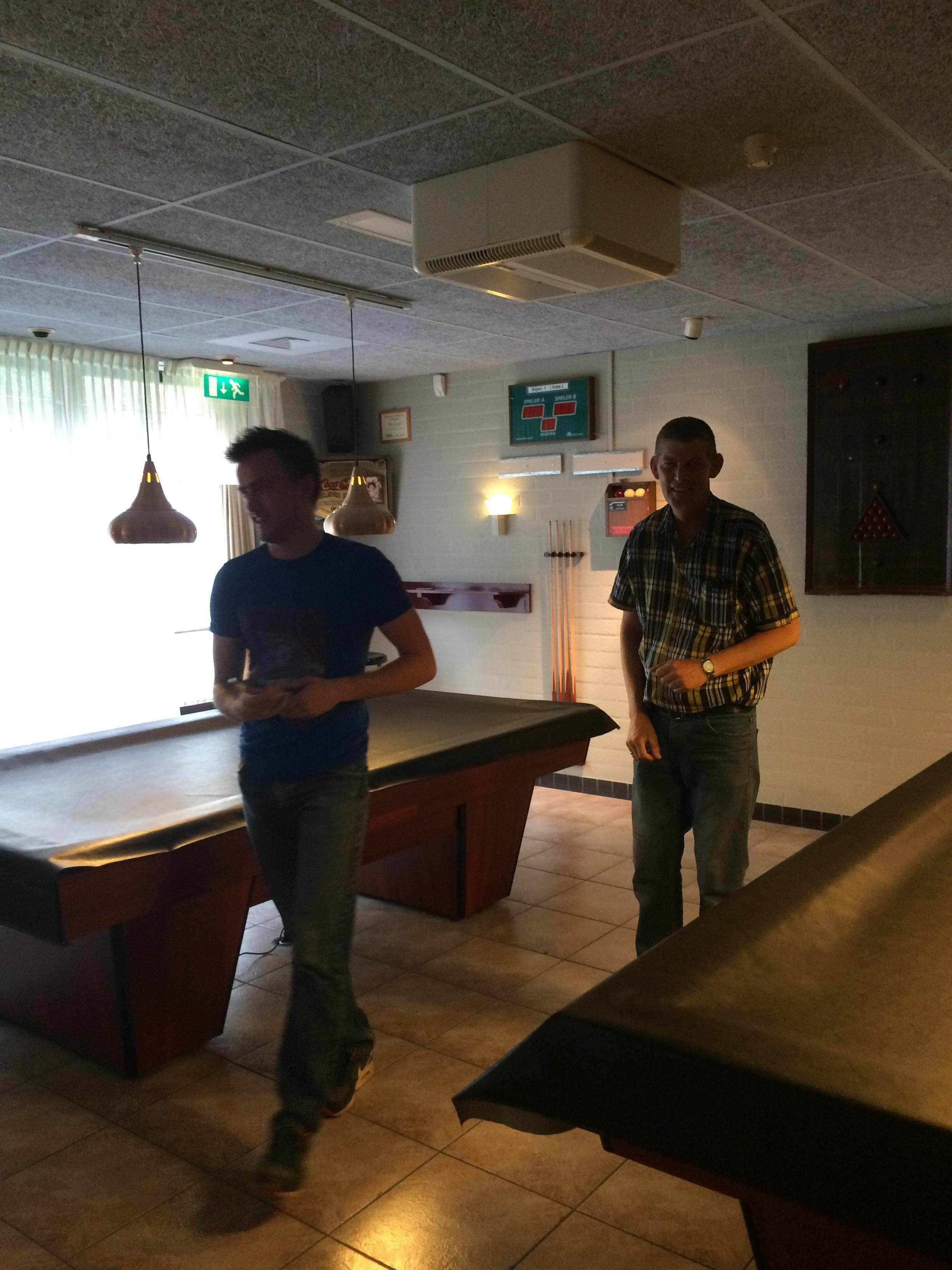 Openbandstoot toernooi 2015 - 16